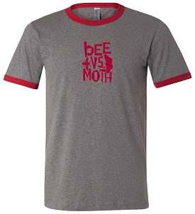 Bee vs. Moth Men's T-Shirt